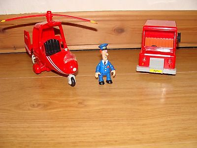 Postman Pat delivery van and helicopter with sounds