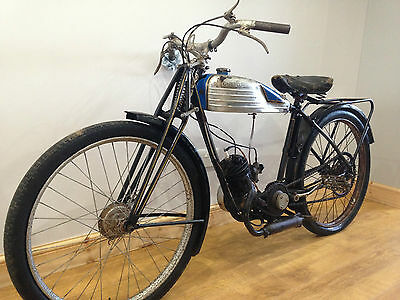 1934  83 Year Old Monet Goyon M10 Bma 98 Villiers Barn Find Project Flat Tracker