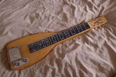 Sexy Blonde 1950's Alamo Challenger Lap Steel Guitar ONLY 1 ON EBAY, 1 OF 1!!!