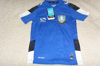 (SW 170) Sheffield Wednesday Sondico Venata Training Shirt, Youth.
