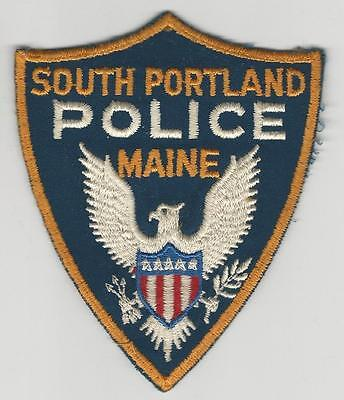 (Old Used) South Portland, Maine Police Patch Sheriff Pd