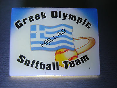 Greek Olympic Softball Team Pin – Athens Olympic Games 2004