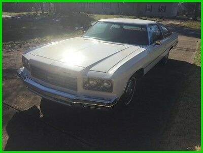 1976 Chevrolet Impala  1976 Chevrolet Impala Used Automatic RWD Coupe, Chevy, Rebuilt Engine, A/C