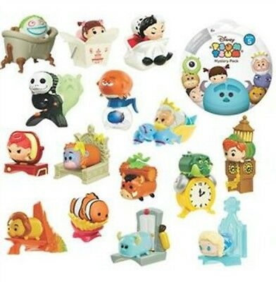 Disney Tsum Tsum Mystery Stack Pack Series 5 & 6 Blind Bags 18 Different US SHIP