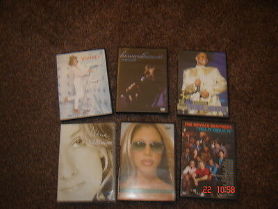 Collection of 6 Music DVD's