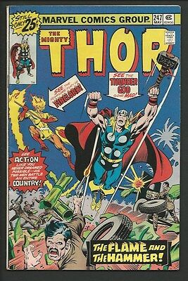 1976 Marvel The Mighty Thor #247 VF