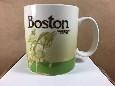 Starbucks 2012 Boston Global Icon Series Mug 16oz