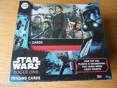 TOPPS  Star Wars Rogue One (sealed box of 36 packets) new