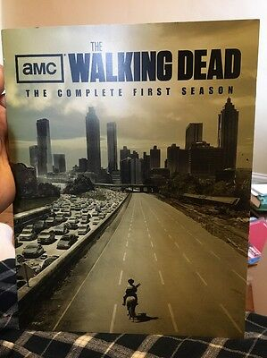The Walking Dead Season One Press Booklet Rare