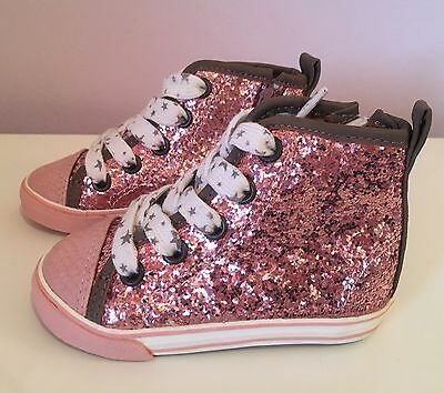 Next Infant Girls Sparkle Ankle Boots Size 4