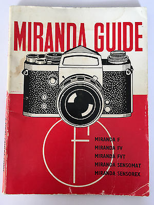 MIRANDA GUIDE A Focal Camera Guide, 1970
