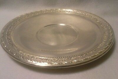 Silverplated Serving Plate by Wallace