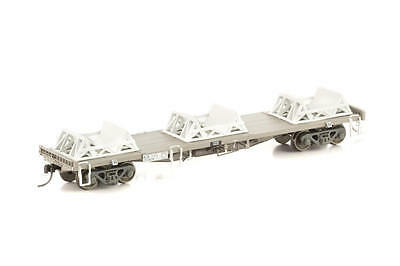 NEW Auscision RCQF Coil Steel Wagon with 3 Cradles - NR/PN - HO Scale