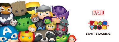 Tsum Tsum Marvel Series 1 2 & 3 Mystery Stack Pack Blind Opened Sold Separately