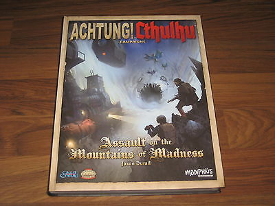 Achtung! Cthulhu Assault on the Mountains of Madness Modiphius Entertainment New
