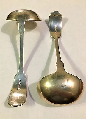 Pair of Silver Plate Ladles A1