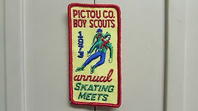 Pictou Co. Boy Scouts 1973 Annual Skating Meets