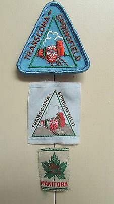 Boy Scouts of Canada Manitoba Transcona Springfield District Patch
