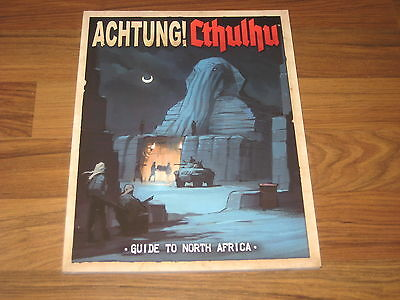 Achtung! Cthulhu Guide to North Africa Modiphius Entertainment New Neu 2014
