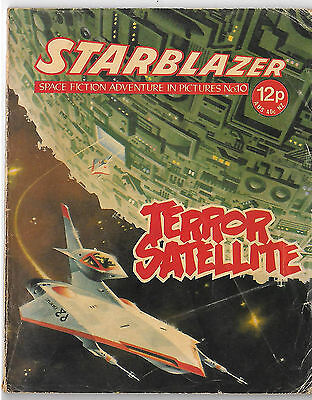 Starblazer 10 (1979) mid-high grade copy - Jaimie Ortiz artwork