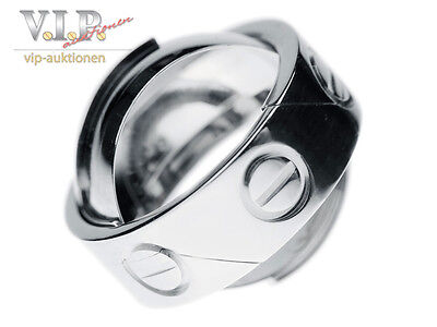 CARTIER ASTRO LOVE RING /ANHÄNGER LIMITED EDITION Gr.50 BAGUE 18K/750 WHITE GOLD