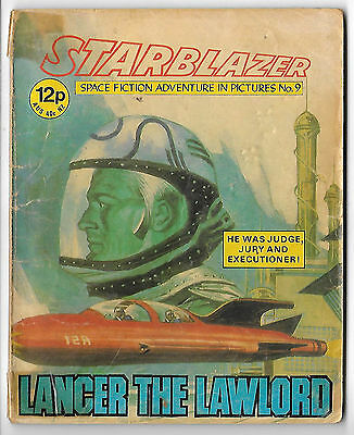 Starblazer 9 (1979) mid-grade copy - Norman Lee artwork