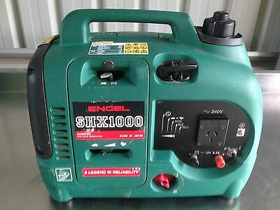 Engel SHX1000 quiet petrol generator for camping boating 4wd