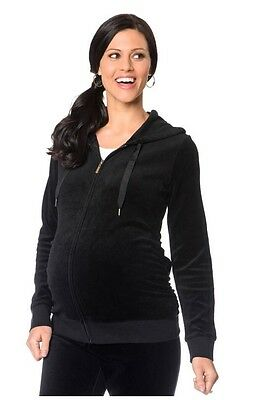 Motherhood maternity Velour Hoodie & Yoga Pant Set.  Size M, Very Cute & Comfy!