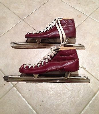Collectable Old Vintage Ice Skates Display Snow Ski Lodge
