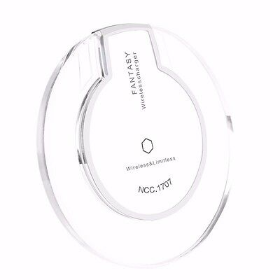 Slim Qi Wireless Charging Charger Pad For Samsung Galaxy S6 S7 edge+Plus Note 5