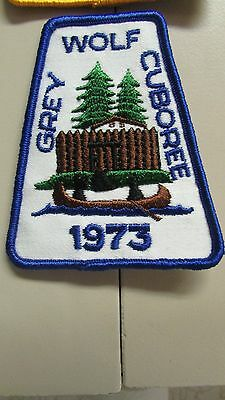 Grey Wolf Cuboree 1973 Patch