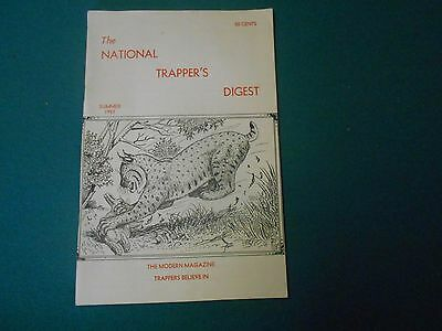 National Trappers Digest Summer 1957 George Mace Bill Nelson, Traps, Trapping