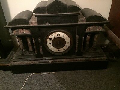 antique clocks ..Two sold together