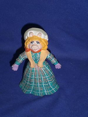Vintage Henson's Miss Piggy Rubber Figure from Just Toys 4 inch