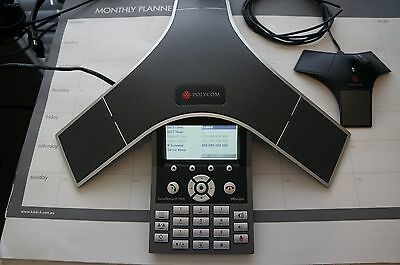 Polycom SoundStation IP7000 VOIP Conference Phone with Extra Microphone