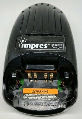MOTOROLA Impres Adaptive Radio Battery Charger Handheld FAST SHIP