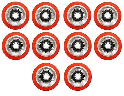 10 x SUPERIOR QUALITY ORANGE DRUM ROLLER BEARING FOR HUEBSCH/SQ/IPSO - 70298701B