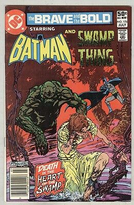 Brave and Bold #176 July 1981 FN- Kaluta cover, Swamp Thing