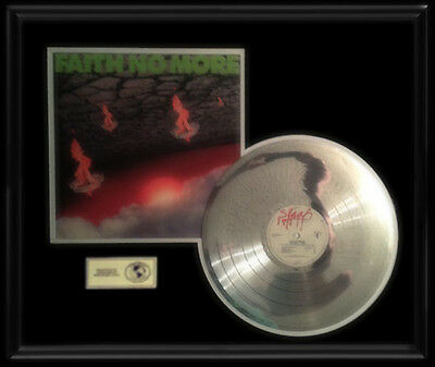 Faith No More Real Thing  Gold  Record Platinum Disc Rare Lp Epic Album Frame