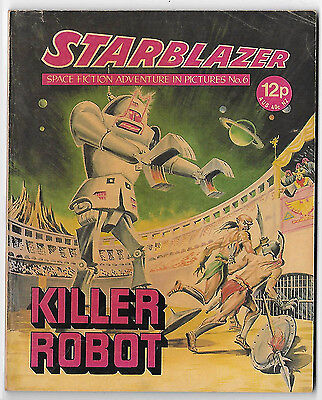 Starblazer 6 (1979) mid-high grade copy - Carrasco artwork