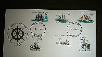 "1981 SHIPS OF THE ANTARCTIC SERIES 3 FDC ""Sale"" CANCEL"