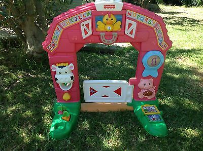 Fisher Price Laugh And Learn Learning Farm / Activity Centre barn door