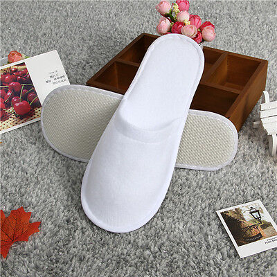 10 Pairs Disposable Slippers House Guest Slippers for Travel Home Hotal Hospital