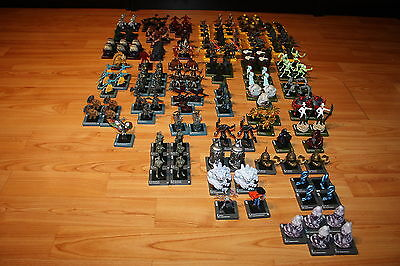 Lot of 183 Dreamblade Night Fusion miniatures