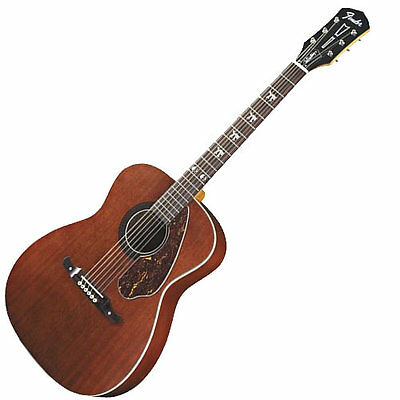 Fender Tim Armstrong Signature Hellcat Acoustic-Electric Guitar DEMO