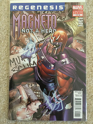 Magneto Not A Hero #1 Limited Series Comic Book (2011, Marvel) NM+