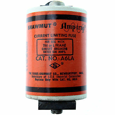 Ferraz Shawmut A6La Amp-Trap Current Limiting Fuse, 600-Amp, Tb6 Or L Frame