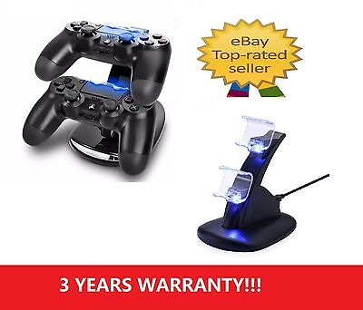 A06 Dual Controller PlayStation PS4 Charger Dock Station USB Fast Charging