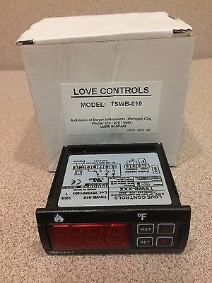NEW Love Controls,  Temperature Switch Wood Burner, TSWB-010. With Probe