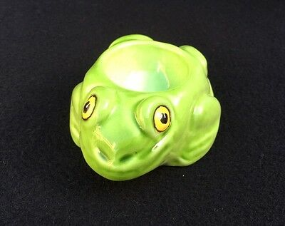 Vintage Glazed Frog Egg Cup (Made In Italy)